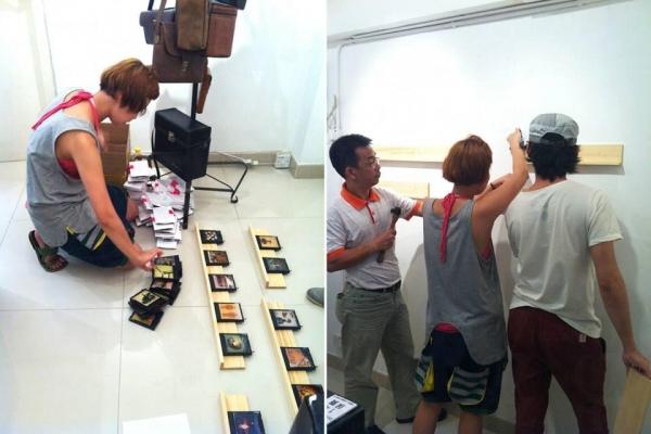 MINT早前曾邀請新加坡藝術家miun來港展出<<beneath the surface>>系列。