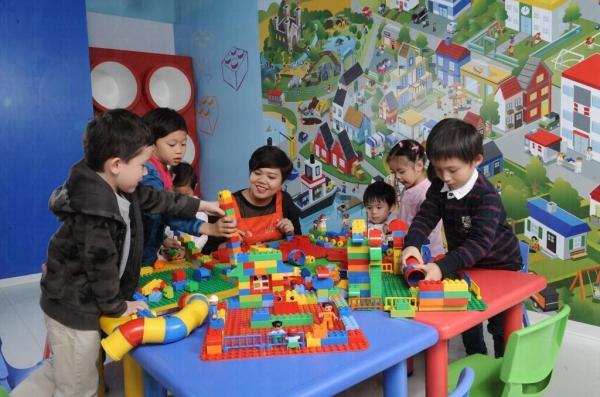 由 Lego 授權的playgroup,發掘小朋友的創意潛能