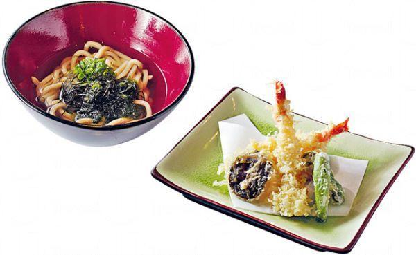 天婦羅烏冬($75):HEIWA 所製的烏冬,口感特別煙韌,配上清香木魚湯及即炸天婦羅。