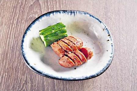 燒辛辣明太子($98):九州博多的辛辣明太子,師傅只需控制好火候便成,是送酒或下飯的最佳小吃。