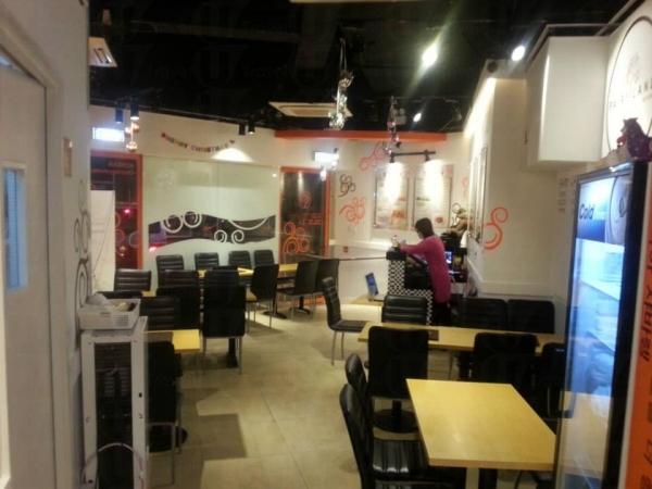餐廳裝修簡約潔淨