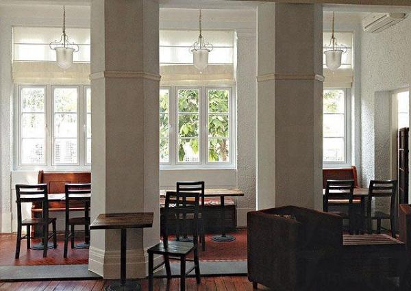 房內的物品全是捐贈或二手的物品,充滿懷舊風格,亦十分環保