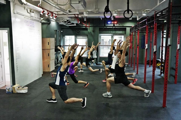 CrossFit 的好處是可以整體修身,而且短時間見效。