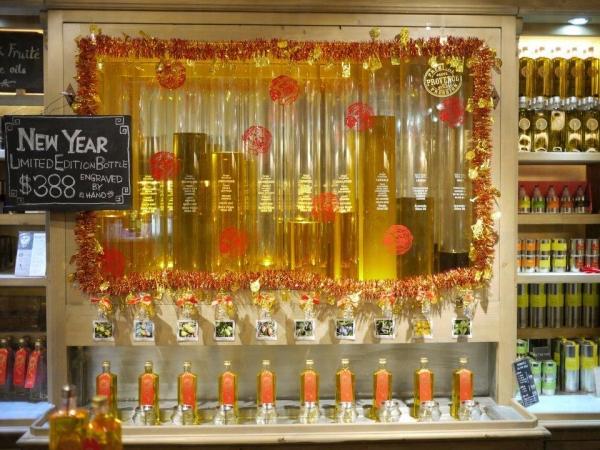 客人可以依自己的口味,自行調較合心水的橄欖油。