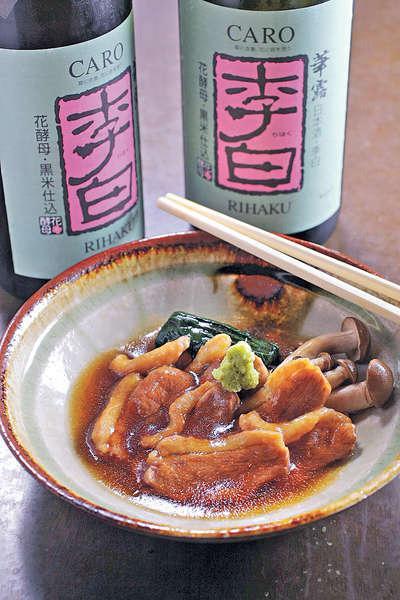 【鴨肉治部煮 $68】治部煮是令男主角順利升官的菜式,是老菜餚。鴨胸肉用木魚花、味醂煮至入味。