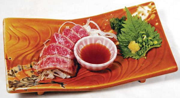 半燒鹿兒島A4和牛(Omakase菜式),散點 $380薄切並輕輕燒過,入口即迸發一口牛脂香,油花十足。