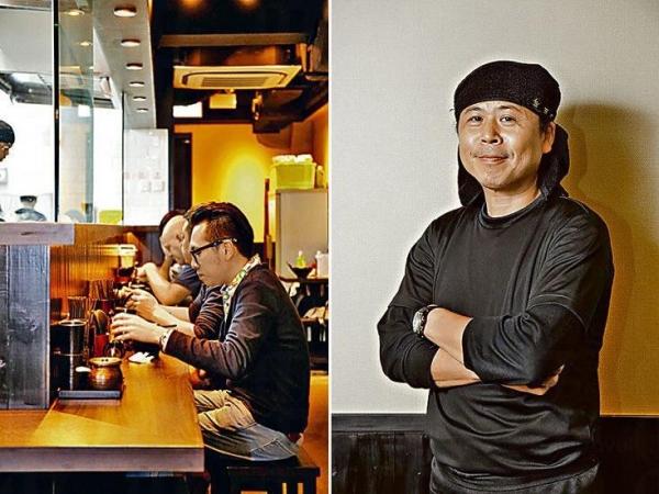 吃拉麵還是坐吧枱最有風味。/ 金田師傅高徒塚元勝志坐鎮新店。