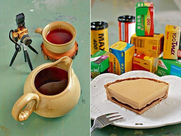 每個精品咖啡($38)order 足有 160ml,比中環區平最少一半,十分抵飲。今次推介肯亞咖啡豆,帶番茄酸香,後勁帶甜。/ 咖啡撻($38):以蛋白打起 espresso,質感輕盈,咖啡味濃厚但不