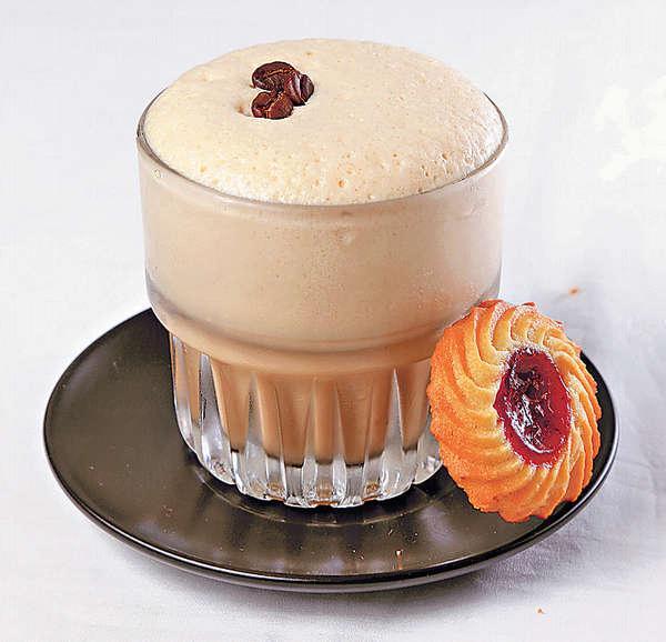 Iced Cappuccino $34手搖出來,同一般的冰Cappuccino頗不同,質地爽身。