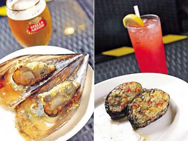 帶子烤得剛好,下了秘製醬汁,好吃。配啤酒 Stella Artois($45 / 杯)最正!/ 鮑魚很新鮮,烤得香口啖啖肉。Sex on the Beach($65),有橙汁、菠蘿汁等,果汁味強,加了