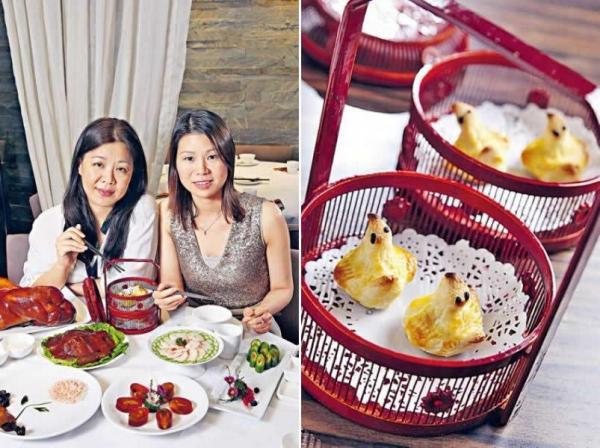 陳霜(圖左)、Susan(圖右)兩姊妹最愛周圍搵食。/ 小鴨子酥($55/4 件):樣子討好,酸甜美味,兩姊妹話要給一百分。