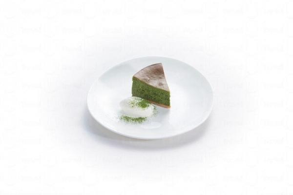 抹茶芝士蛋糕 (LOG-ON Café限定)