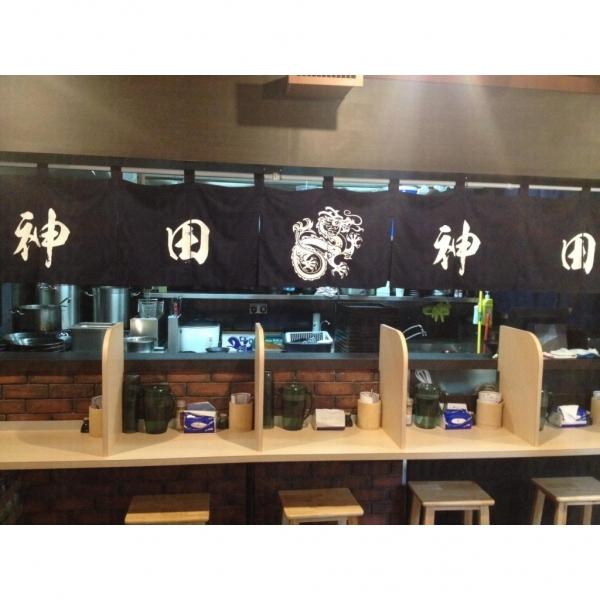 神田麵屋的風格十足日本當地的拉麵小店