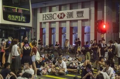 受示威影響 本港臨時交通安排