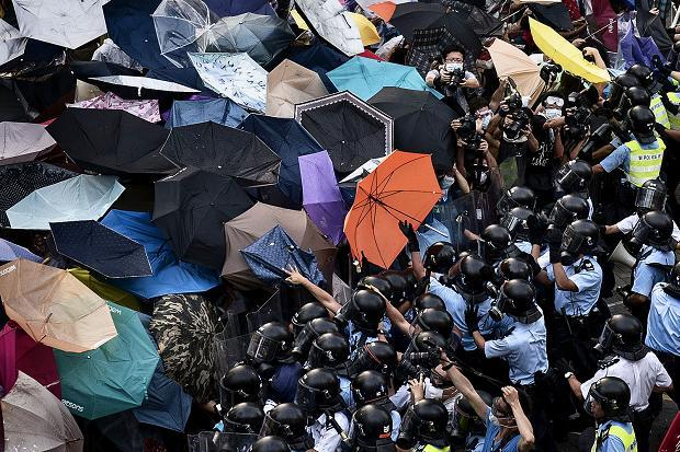 「Umbrella Revolution」背後的故事