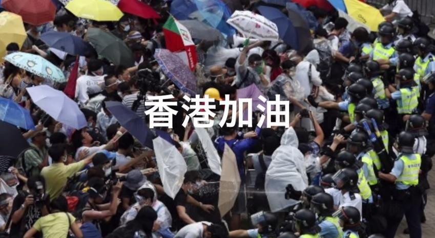 日本「雨傘革命」應援歌撐港人