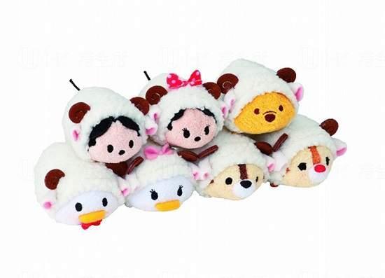 羊咩咩Tsum Tsum公仔 聖誕開售