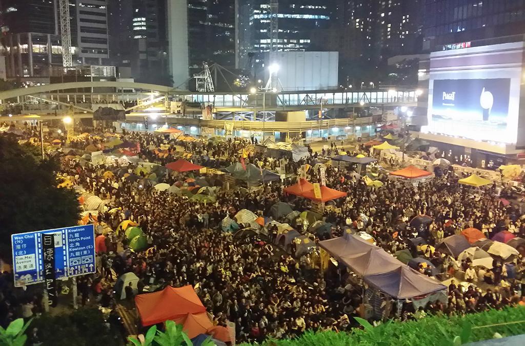 Google香港2014熱門時事議題 佔中非最hit