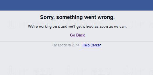 突發!Down近一小時 一直未離開過facebook揮手區