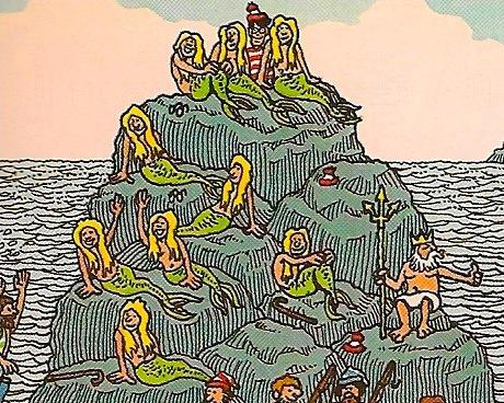 兒童不宜?細心看Wally的圖片時,你會找到意想不到的畫面
