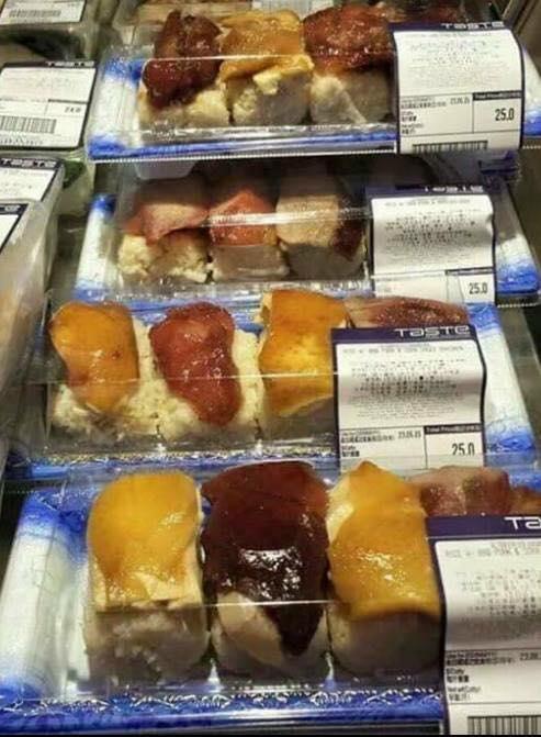 燒味壽司新衝擊!中港美日10款特色壽司比拼 正常應該一款都唔會食