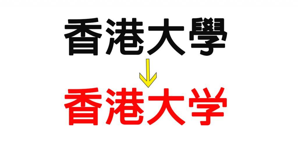 港大研究倡推廣簡體字 方便全國溝通
