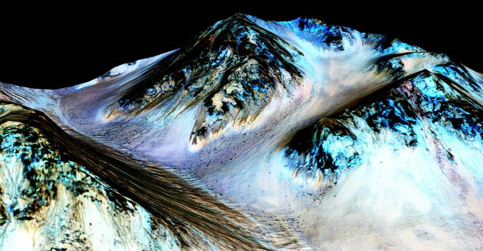 NASA 火星發現液態水似有隱瞞?雲海:日後或再有重大公佈