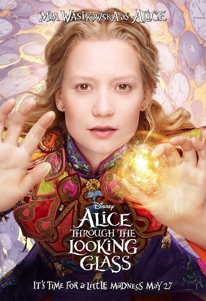 魔法球可能是關鍵?《愛麗絲夢遊仙境2》釋出角色海報