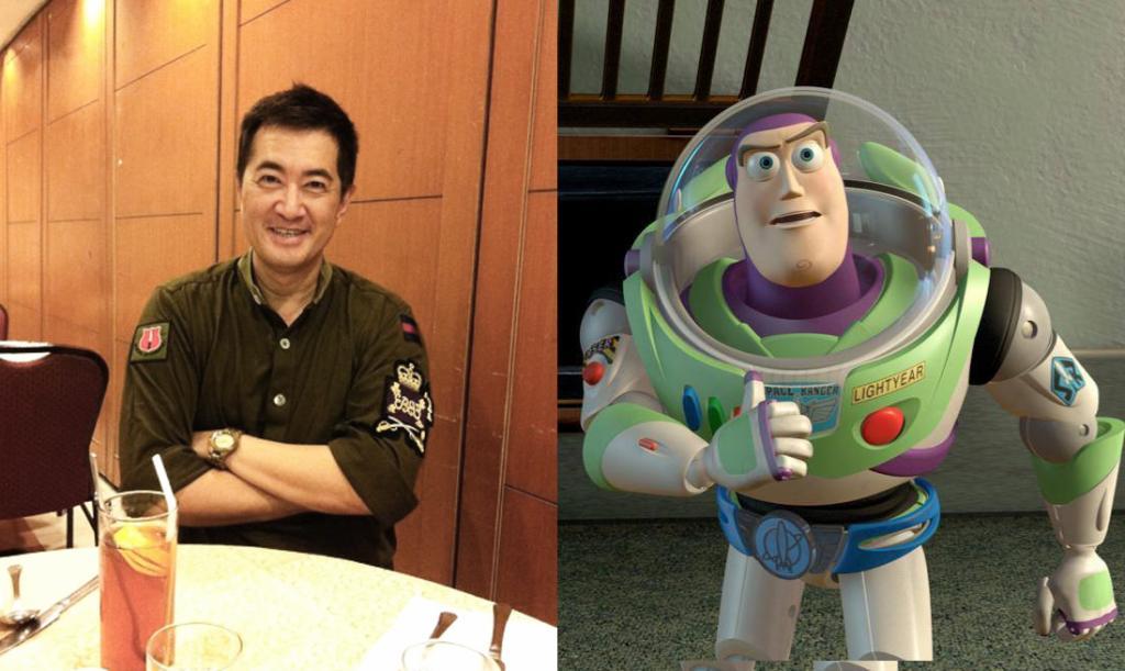 拍番套Toy Story都得!最似卡通人物的名人大集合
