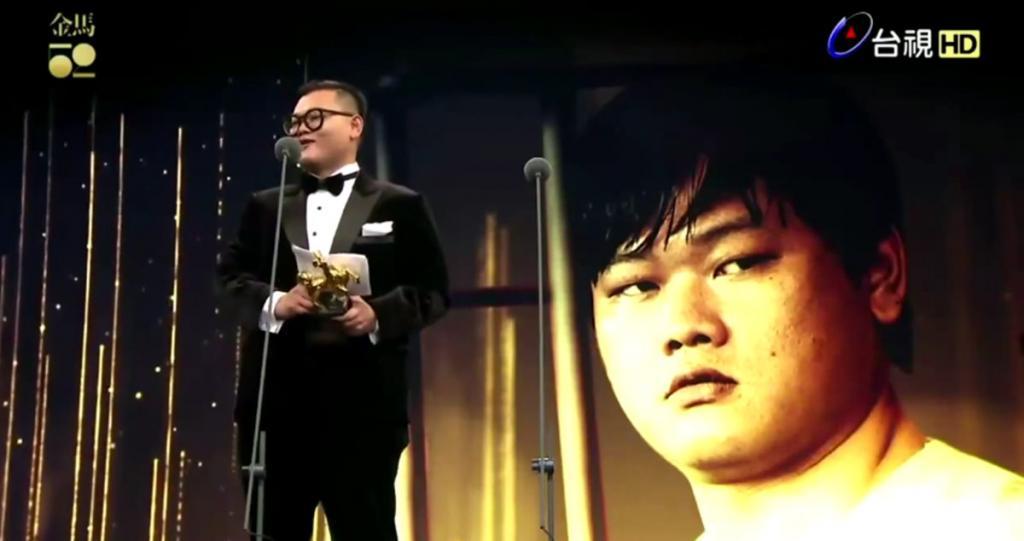 香港演員白只奪《台灣金馬獎》最佳男配角 廣東話得獎感言超感人