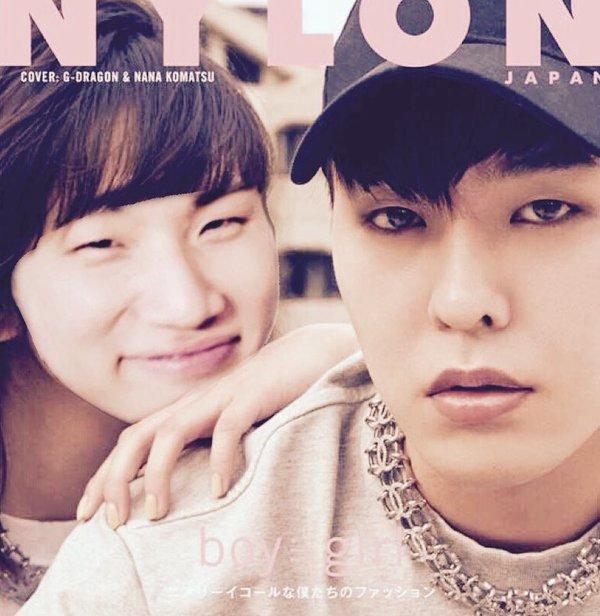 別讓粉絲吃醋!G-Dragon和日本女星的親密封面照竟被這樣惡搞......