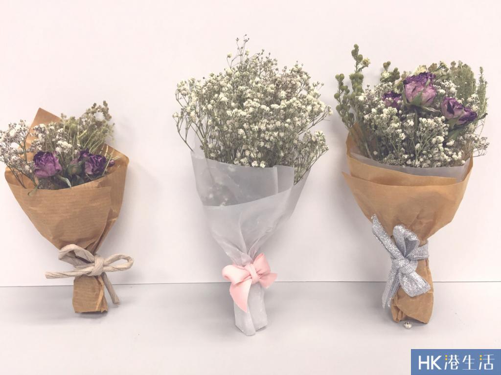生日、畢業不要再捧大花束了!自製韓式迷你小花束