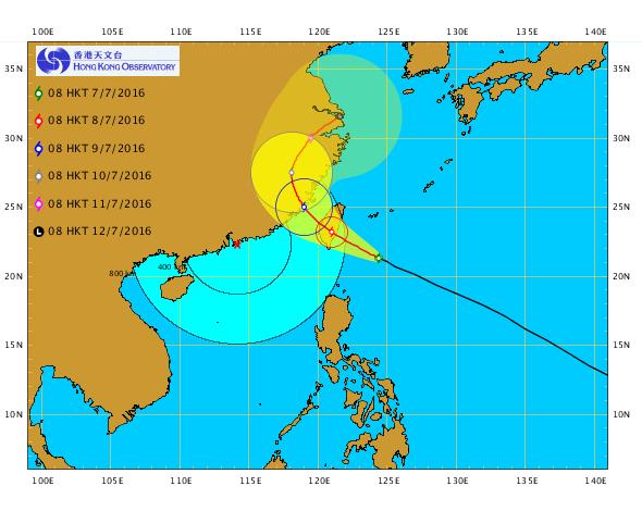 尼伯特變超強颱風 今日將不掛波