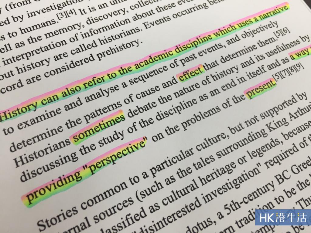 教學實測!螢光筆變成彩虹色
