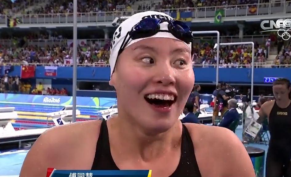 泳壇「火雞姐」表情誇過emoji! 謙虛真性情贏民心