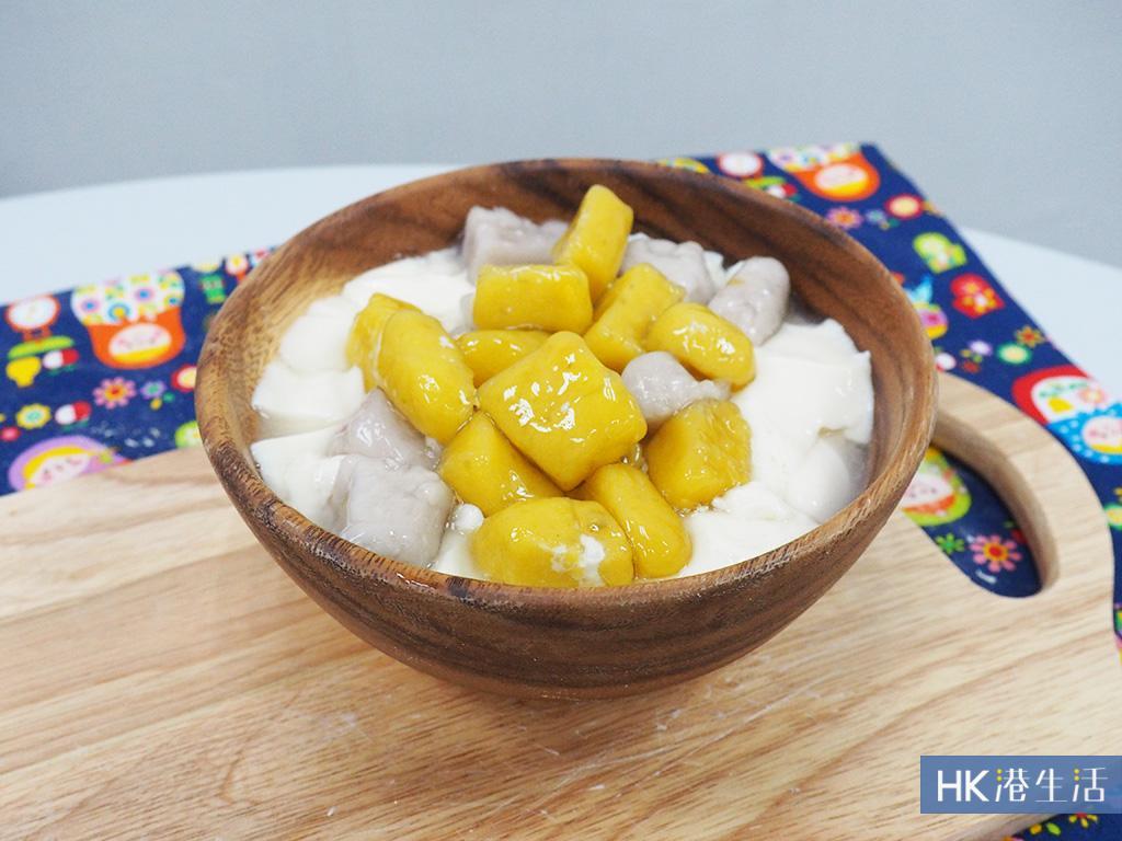 自家製台式甜品第一彈:芋圓+地瓜圓豆腐花