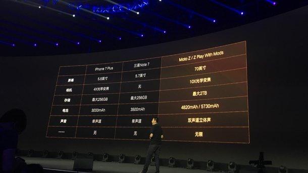 iPhone 7 Plus被發布?Lenovo記者會截糊公布新iPhone規格