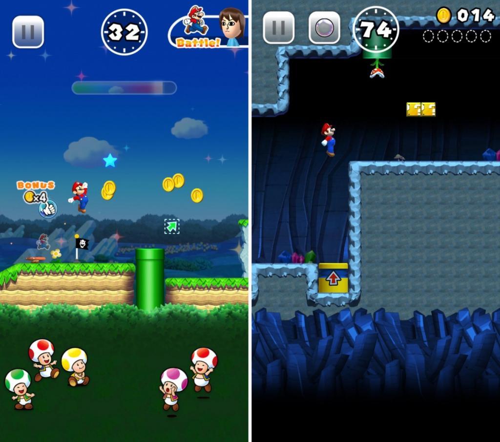 單手操作兼可對戰!Super Mario Run年底跳入App Store