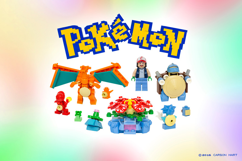 有齊151隻!外國神人砌出LEGO版Pokémon