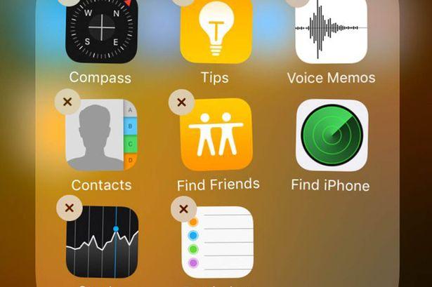 省下儲存空間! 簡單2步移除iPhone內無用的內置APP