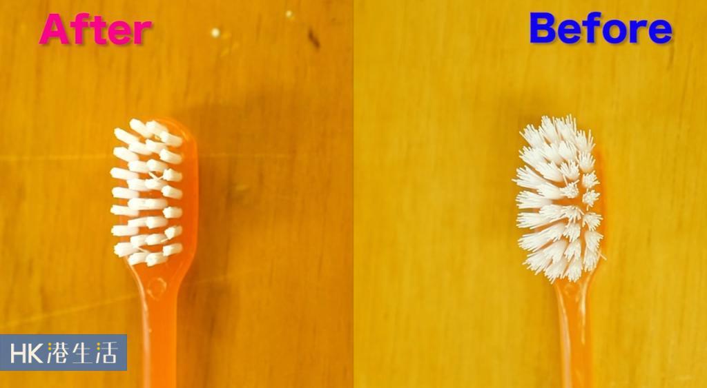 延長牙刷壽命!一個步驟理順刷毛