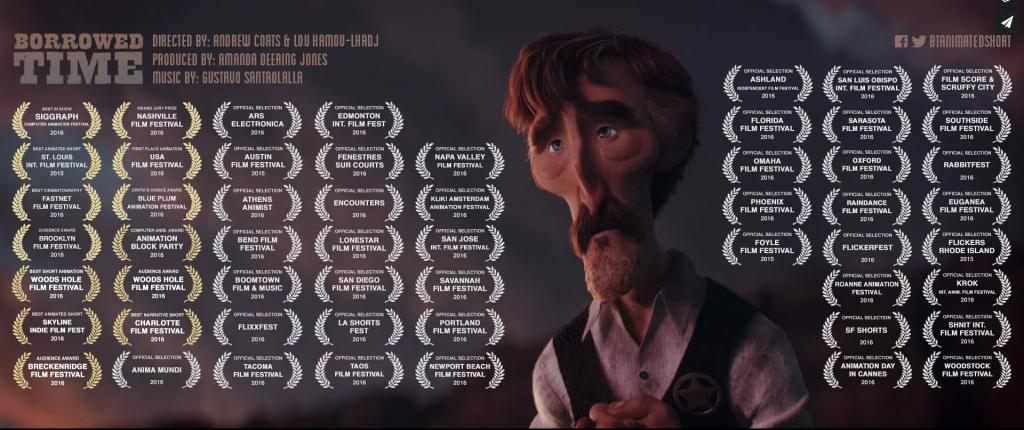 Pixar動畫師創作沉重成人動畫 4日喪吸250萬點撃