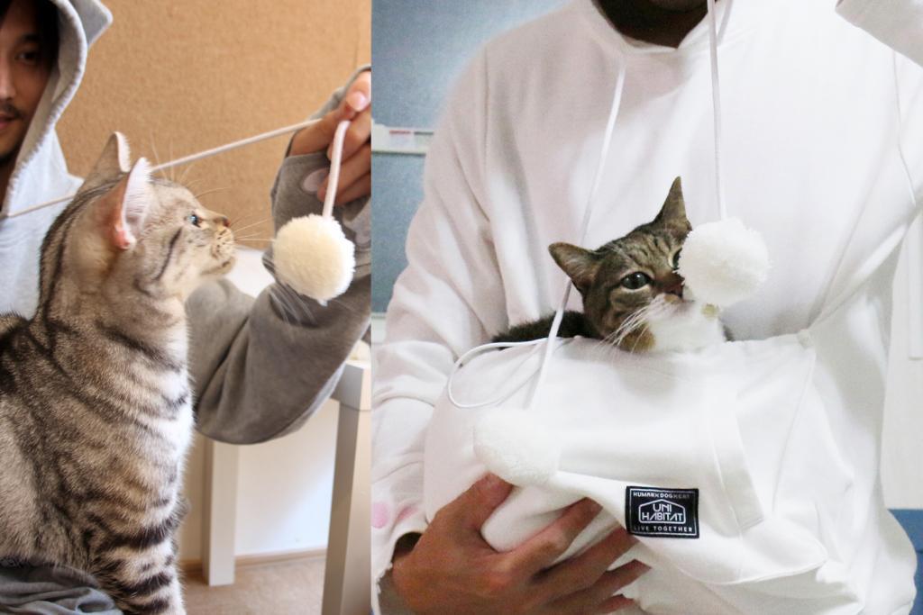 人肉暖爐?日本推出多功能「貓奴制服」