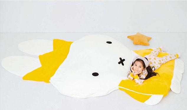 冬季宅在家之選 巨型Miffy睡袋登場