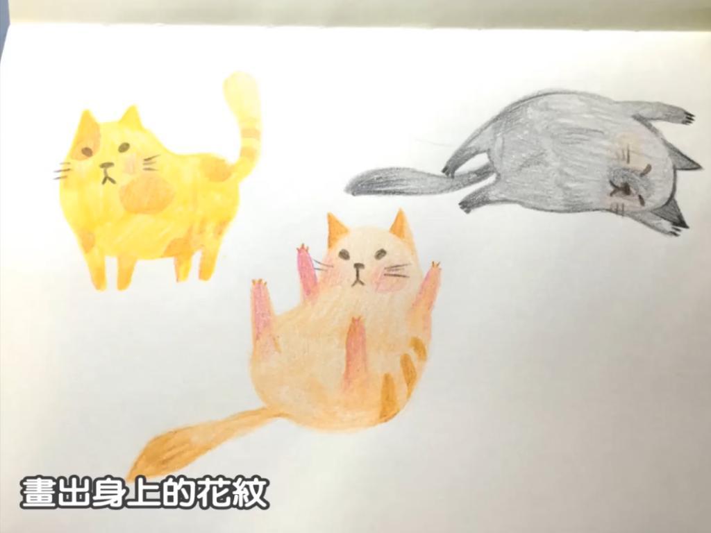 淨係識畫個頭?超簡單手繪貓貓教學
