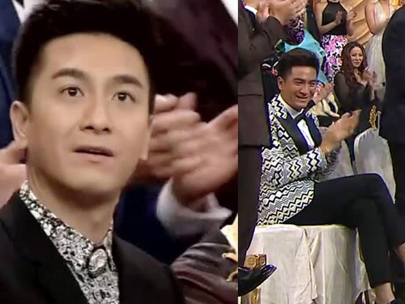 比馬國明陪坐得更多!TVB頒獎禮陪坐最多的男主角