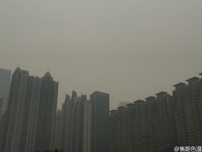 霧霾南下吹到廣州 香港一樣無得避?