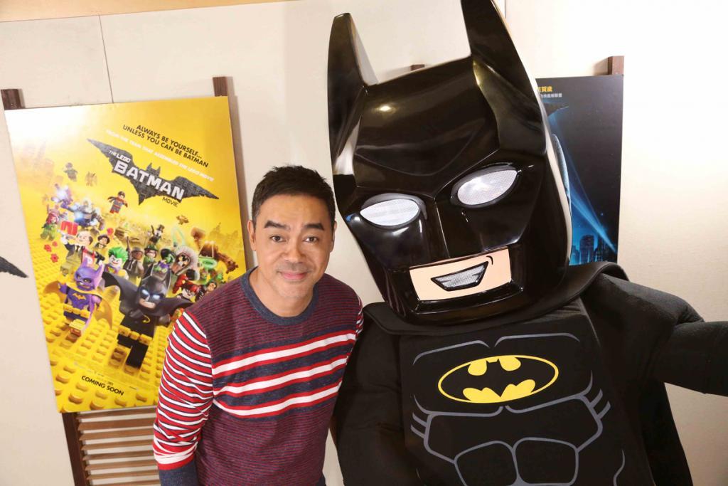劉青雲自嘲唔夠Batman型!影帝爆笑聲援《LEGO蝙蝠俠英雄傳》