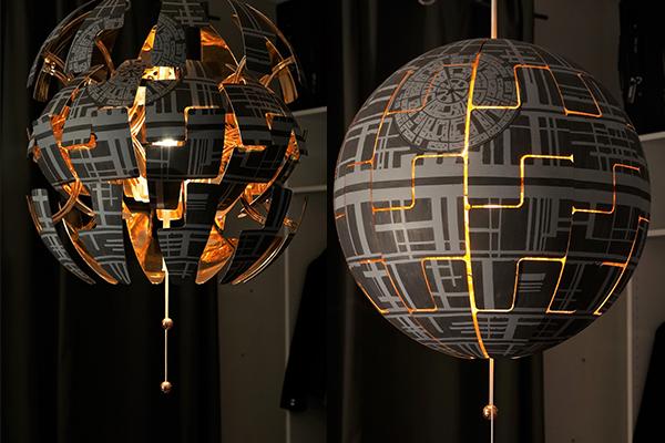 IKEA燈大變身!外國網友改成星戰武器Death Star