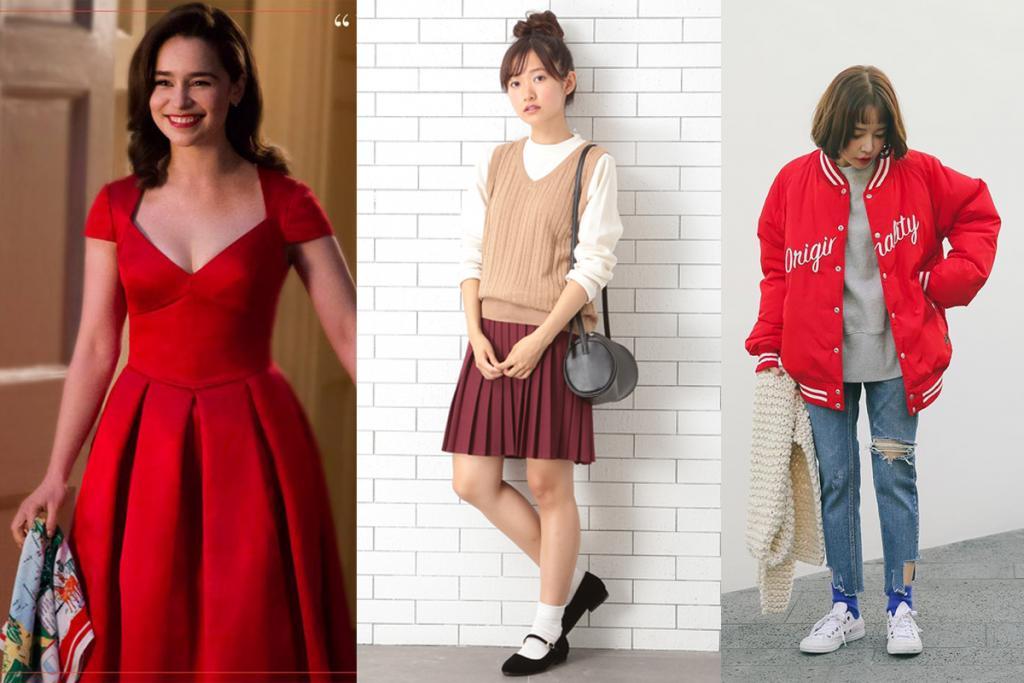 紅色好難carry?學model襯出紅色系拜年打扮